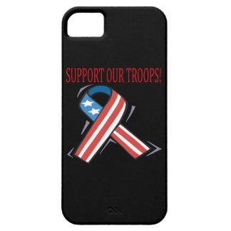Apoye a nuestras tropas funda para iPhone SE/5/5s