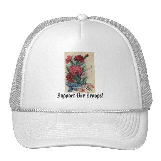¡Apoye a nuestras tropas! Gorro