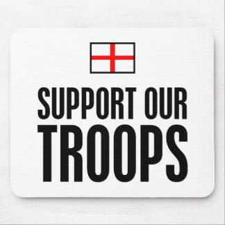 Apoye a nuestras tropas mouse pad