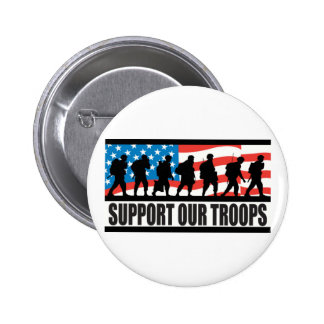 Apoye a nuestras tropas pins