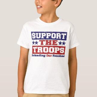 Apoye a nuestras tropas playera