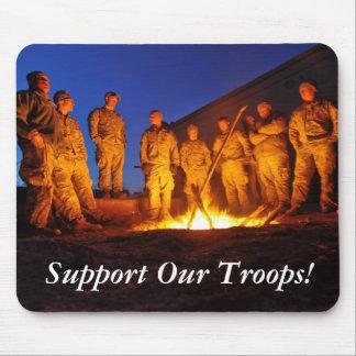 Apoye a nuestras tropas tapete de ratón