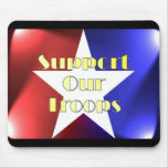 Apoye a nuestras tropas tapetes de raton