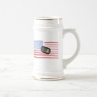 Apoye a nuestras tropas taza de café