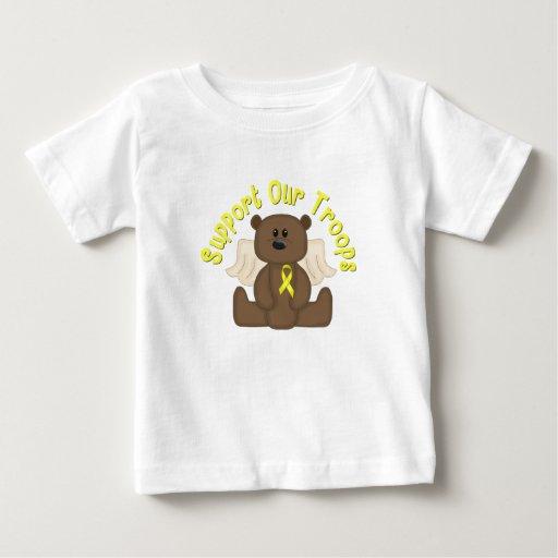 Apoye a nuestras tropas tee shirts