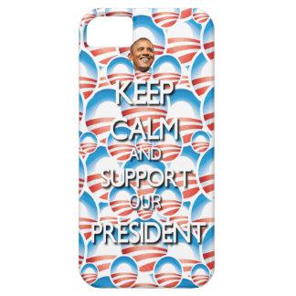 Apoye a nuestro presidente iPhone 5 funda