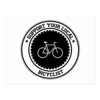 Apoye a su Bicyclist local Postal