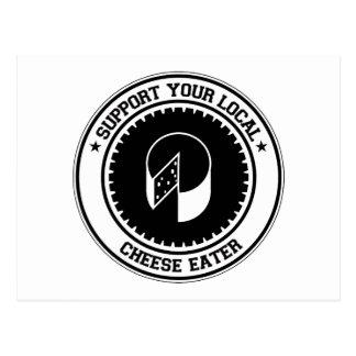 Apoye a su comedor local del queso postal