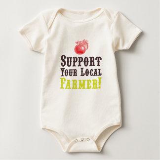 Apoye a su granjero local body para bebé