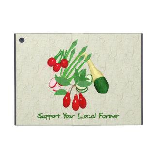 Apoye a su granjero local iPad mini protectores