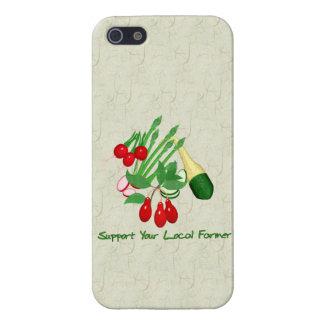 Apoye a su granjero local iPhone 5 protector