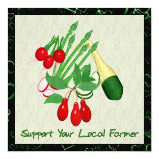 Apoye a su granjero local anuncio