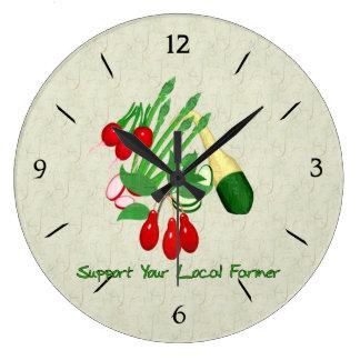 Apoye a su granjero local relojes