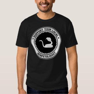 Apoye a su Herpetologist local Poleras