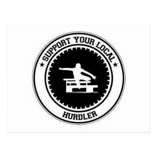 Apoye a su Hurdler local Postal