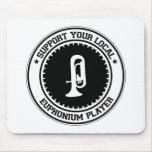 Apoye a su jugador local del Euphonium Tapetes De Raton