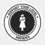 Apoye a su partera local etiquetas