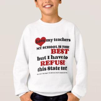 Apoye a su profesor. Apoye su escuela. Opte hacia Sudadera