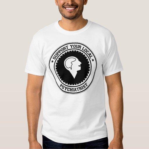 Apoye a su psiquiatra local camisas