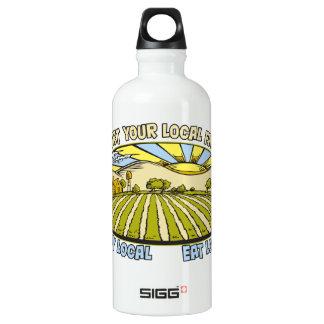 Apoye a sus granjeros locales botella de agua