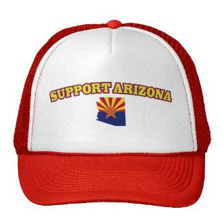 Apoye el estado de Arizona Gorro De Camionero