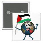 Apoye el estado de Palestina Pins