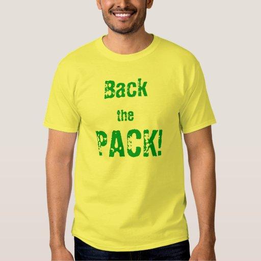 ¡Apoye el paquete! Playera