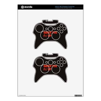 Apoye la F: /para arriba Mando Xbox 360 Skins