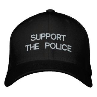 APOYE LA GORRA DE BÉISBOL de la POLICÍA por