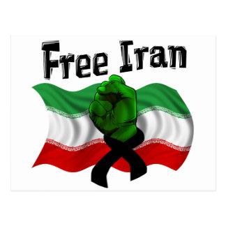 Apoye la onda verde, Irán libre Postal