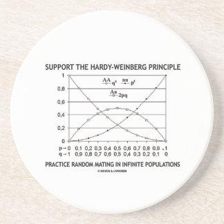 Apoye la práctica del principio de posavasos diseño