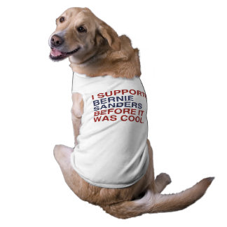 Apoyé las chorreadoras de Bernie antes de que Playera Sin Mangas Para Perro