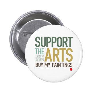 Apoye las pinturas de los artes