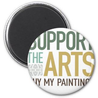 Apoye las pinturas de los artes imán de frigorífico