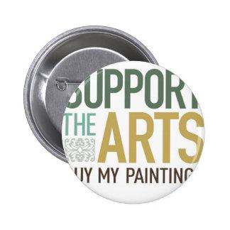 Apoye las pinturas de los artes pins
