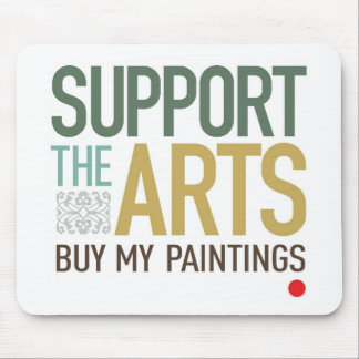 Apoye los artes Mousepad Tapetes De Raton
