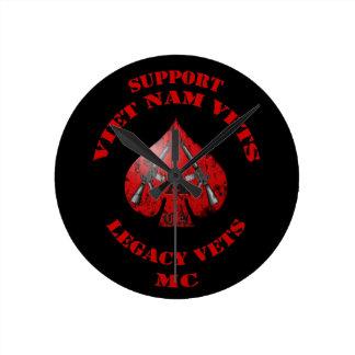 Apoye los veterinarios/a los veterinarios bujía mé reloj redondo mediano