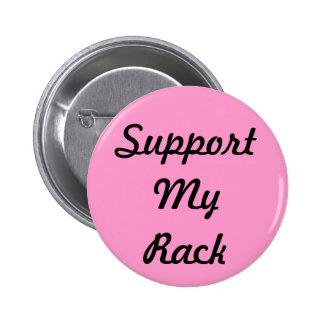 Apoye mi estante pin