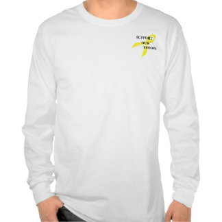 Apoye nuestra camiseta para hombre del LS de la ci