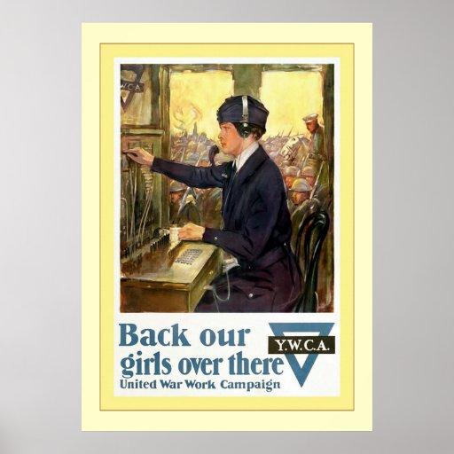 Apoye nuestra guerra mundial del vintage del ~ de  poster