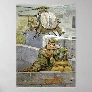 Apoye nuestras fuerzas especiales del poster milit