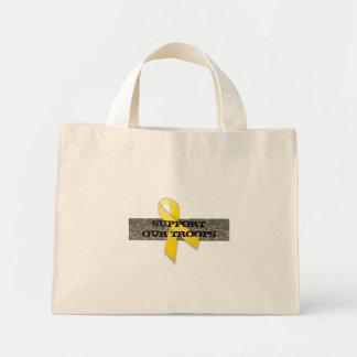 Apoye nuestro ACU de la cinta del amarillo del tot Bolsas