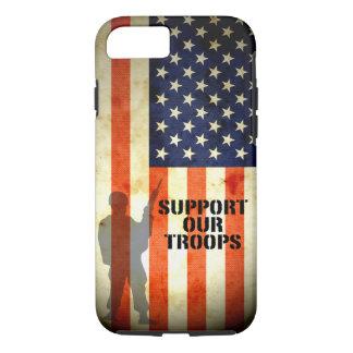 Apoye nuestro caso del iPhone 7 de la bandera Funda iPhone 7