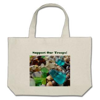 Apoye nuestros totes de Seaglass de las bolsas de