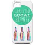 Apoye su caso local del iPhone 5/5s de la cervecer iPhone 5 Carcasas