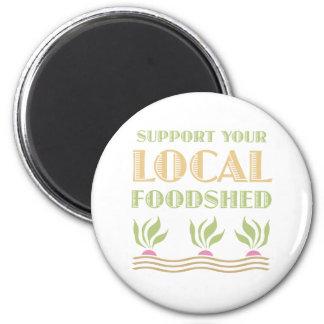 Apoye su Foodshed local Imanes