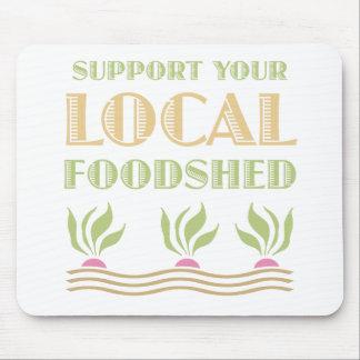 Apoye su Foodshed local Tapetes De Raton