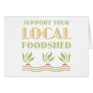 Apoye su Foodshed local Tarjeta