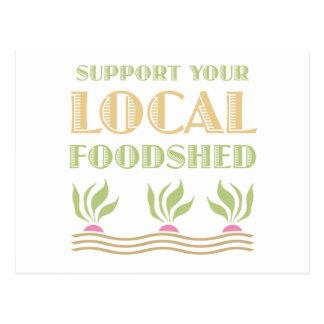 Apoye su Foodshed local Postales