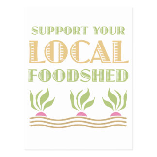 Apoye su Foodshed local Postal